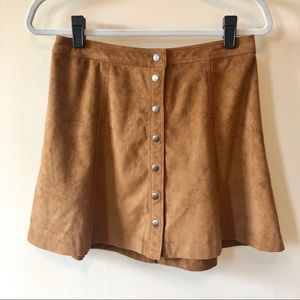 Abercrombie & Fitch Women's Suede Skirt